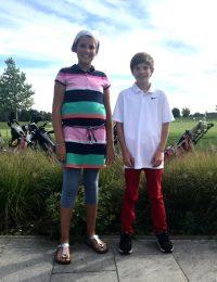 Golf-Club Herzogenaurach | News - Jule und Janine bei der Talentiade