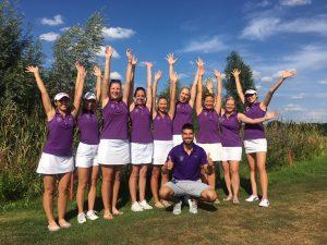 Golf-Club Herzogenaurach | Damenmannschaft mit Trainer