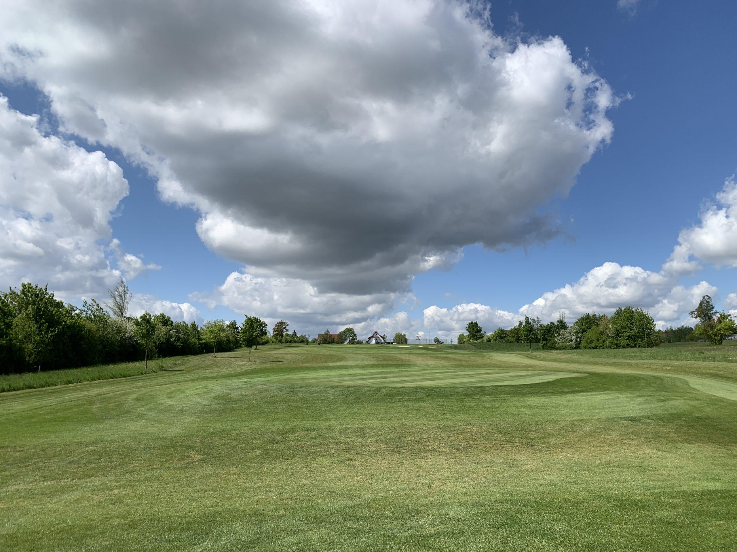 Golf-Club Herzogenaurach weißblaues Franken